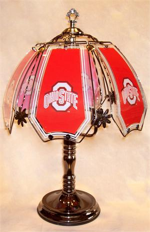 Ohio State Buckeyes Touch Lamp at Sportsfanprolighting.com